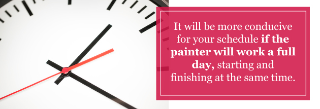 painter-schedule