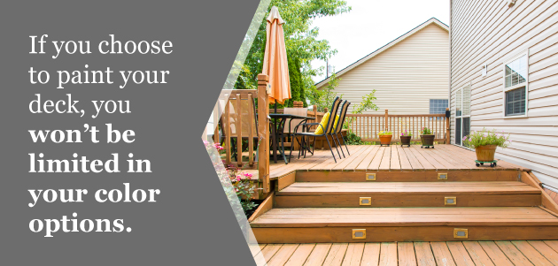 Painting Vs Staining Your Deck Which Option Is Best