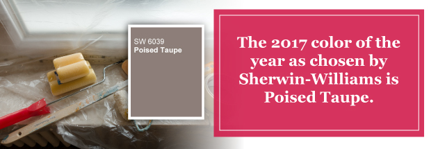 Poised Taupe - New Sherwin Williams Paint Color