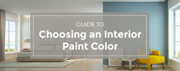 Guide To Choosing An Interior Paint Color Best