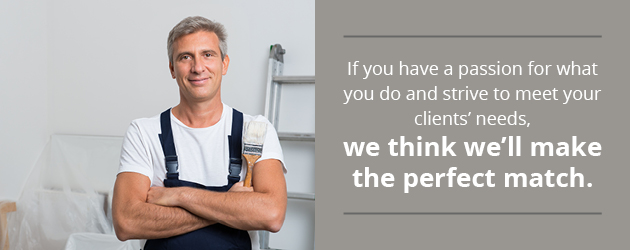 We think we're the perfect match if you strive to meet your clients' needs