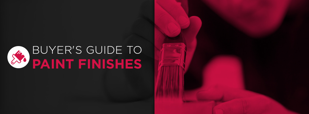 Buyers guide to paint finishes