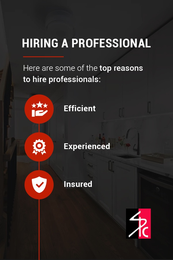 top reasons to hire a professional to paint your cabinets