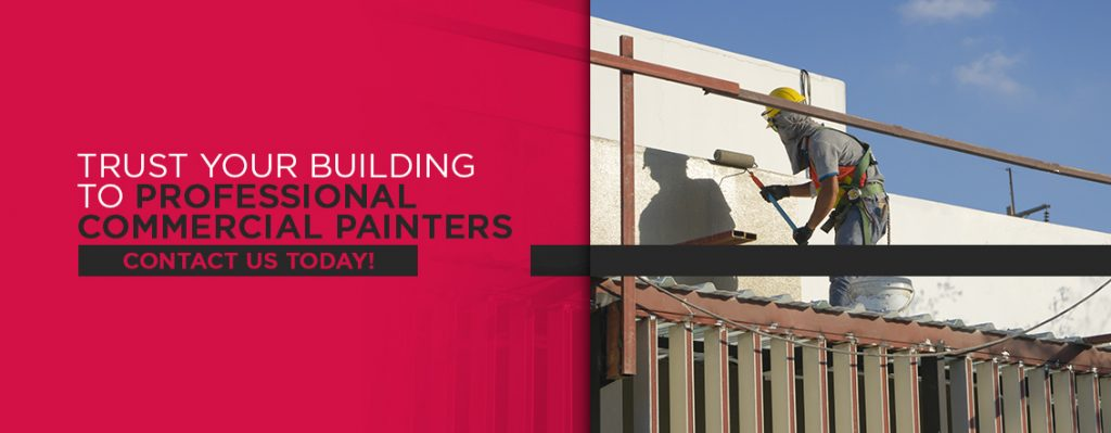 Trust your building to professional commercial painters at Shoreline Painting