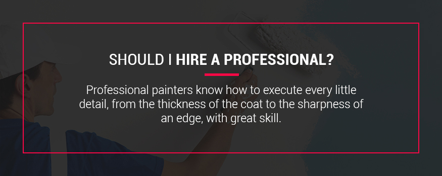 Should you hire a professional painter to repaint your home exterior