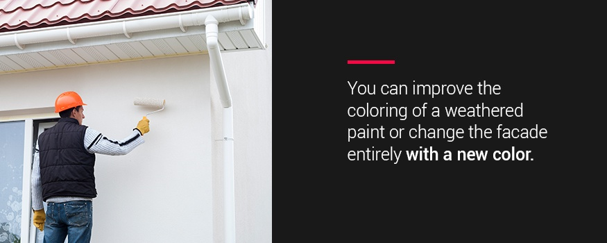 Beautify your home with a fresh coat of new exterior paint