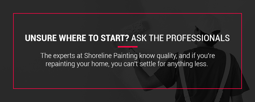 Contact Shoreline Painting to help improve your home's curb appeal