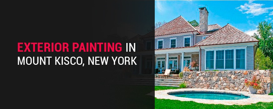 Exterior painting in Mount Kisco New York