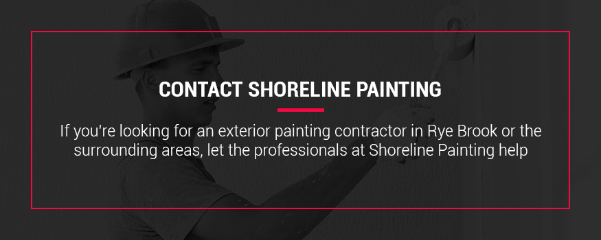 Contact Shoreline Painting for exterior painting in Rye and Rye Brook New York