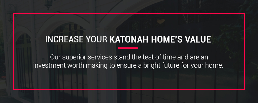 Increase your Katonah, New York home's value with exterior painting