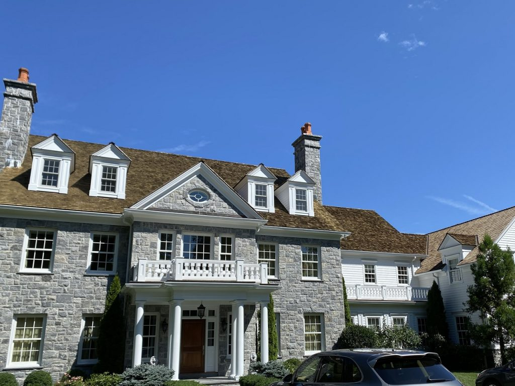 Greenwich, CT exterior paint project