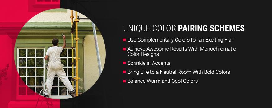 Unique Color Pairing Schemes