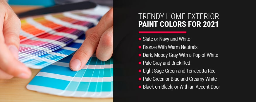 Trendy Home Exterior Pain Colors For 2021