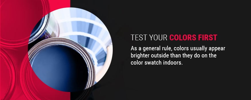Test Your Colors First